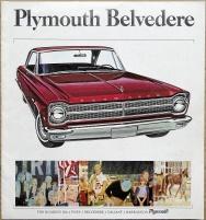 Broschyr Plymouth Belvedere 1965 i storformat