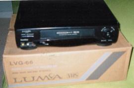 Videobandspelare VHS Luma
