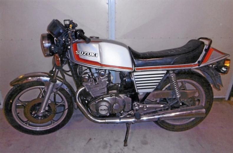 Suzuki 450 cc