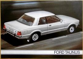 Broschyr Ford Taunus 1978