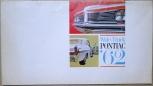Broschyr Pontiac Tempest 1962