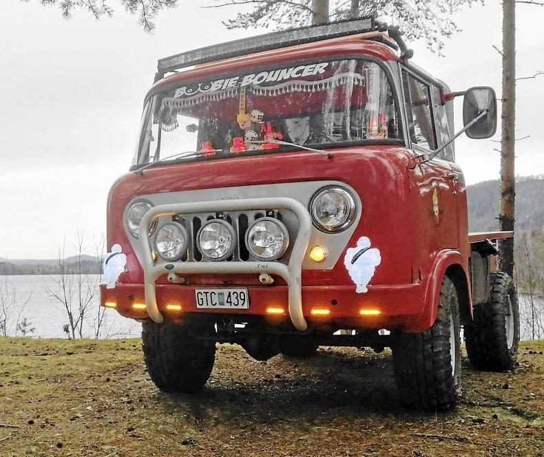 Willys Jeep äkta Epa diesel