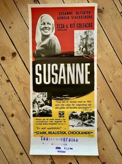 """Filmaffisch """"SUSANNE"""""""