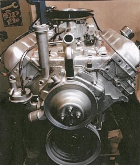 Motor Oldsmobile 307