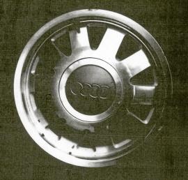 Audi-hjul bra sommardäck