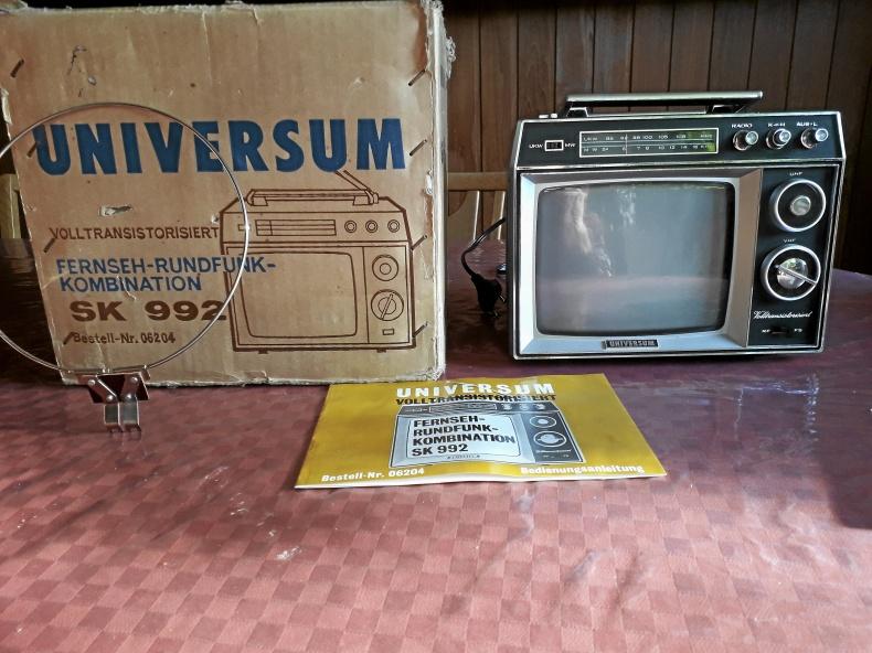 Mini-TV från 60-talet