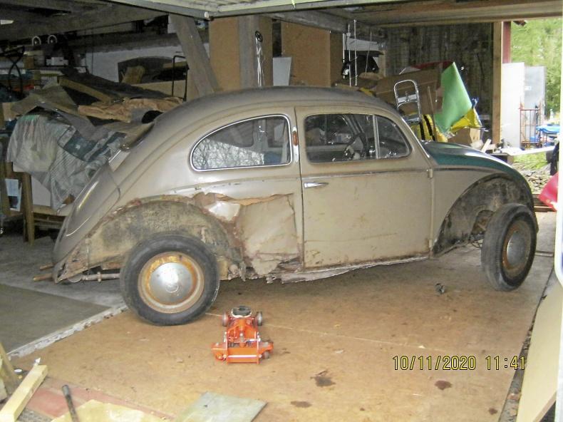Volkswagen renoveringsobjekt