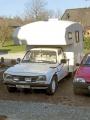 Peugeot 504 D pickup/Camper