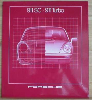 Broschyr Porsche 911 1981