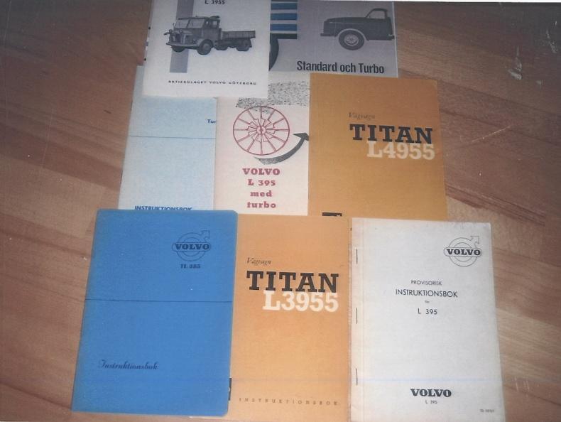 Instruktionsböcker Volvo LV