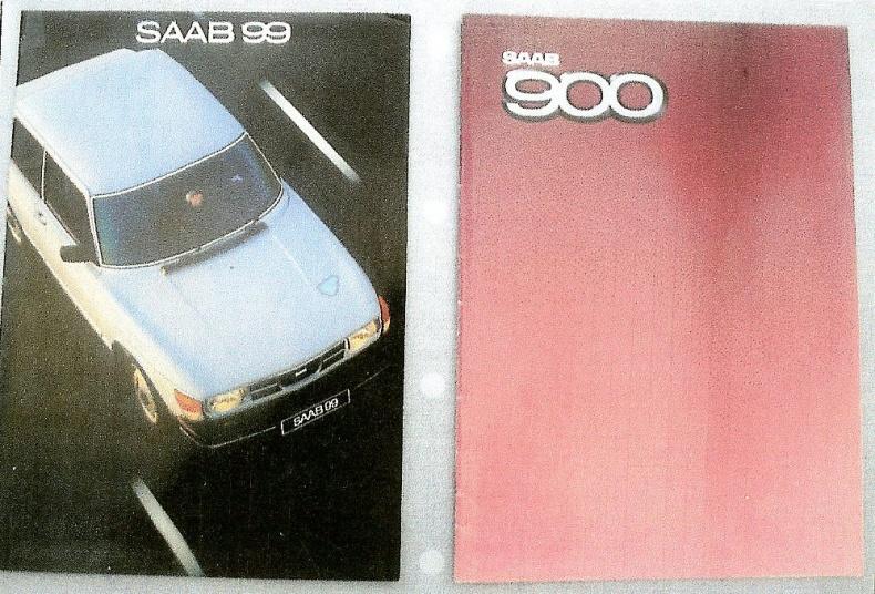 Saab broschyrer