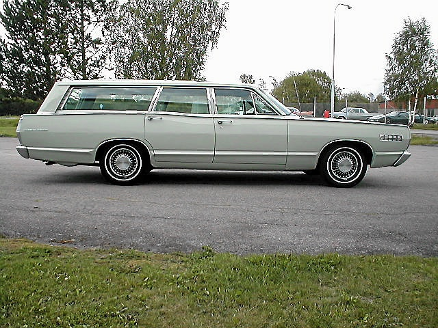 Mercury Commuter Station wagon