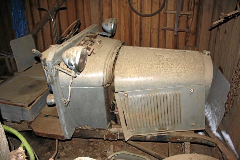 Ford L V traktor 1927