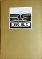 Broschyr Mercedes 350 SLC 1972