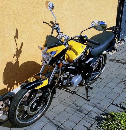 mobile_Mycket fräck Moped Romet ZXT 7- 50