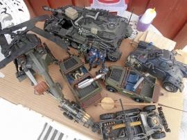 """Militära """"leksaker""""/samlarmodeller"""