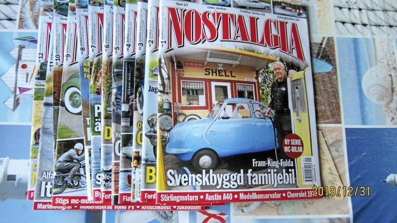 Nostalgia och Classic Bilsport Säljes